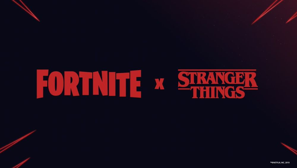 Fortnite x Stranger Things