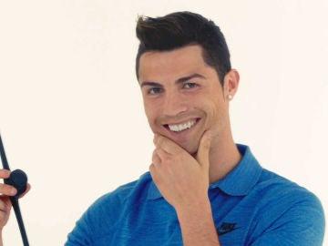 Cristiano Ronaldo con Facial Fitness