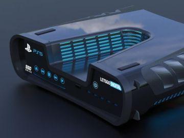 Render 3D PlayStation 5