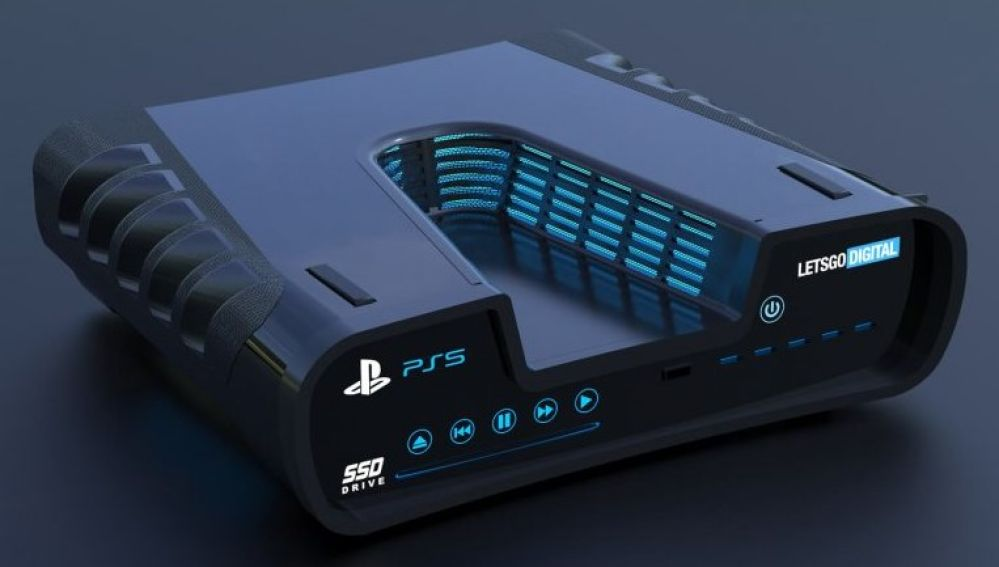 Render 3D PlayStation 5