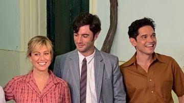 Blanca Suárez, Javier Rey y Pablo Molinero