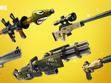 Armas de Fortnite