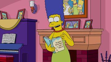 Marge se convierte en la mismísima Marie Kondo