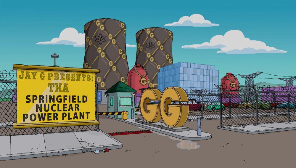 Un rapero estafa al señor Burns y se queda con la central nuclear