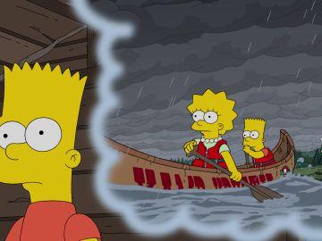 Bart y Lisa vuelven al campamento Krusty