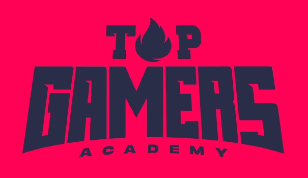 El logo de Top Gamers Academy