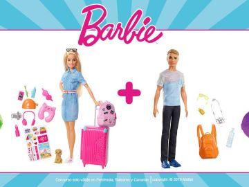 Participa y gana un lote de viaje de Barbie entre los que sorteamos
