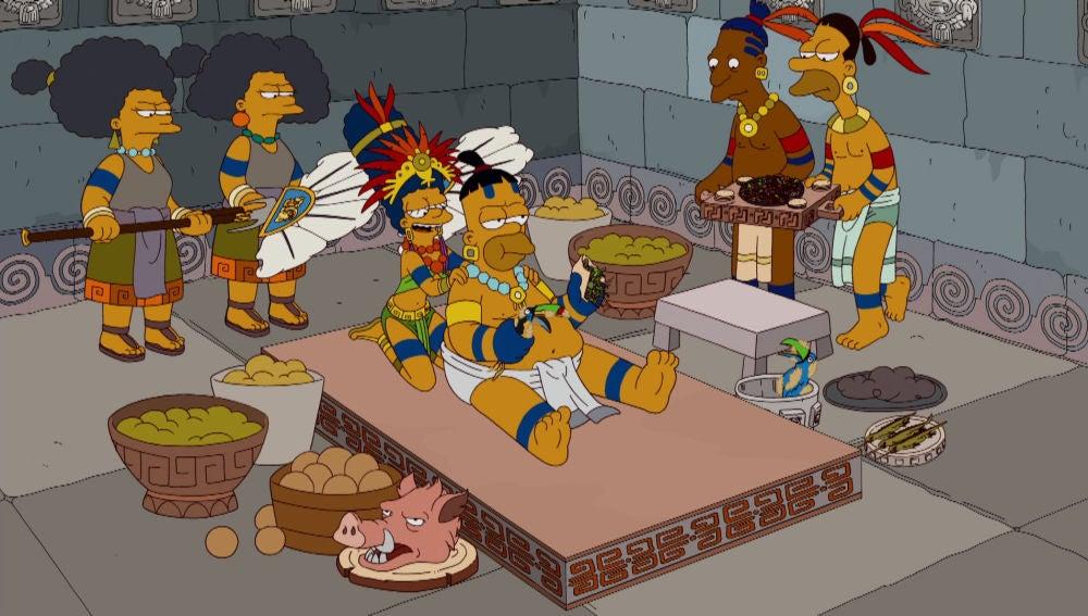 Homer, el maya