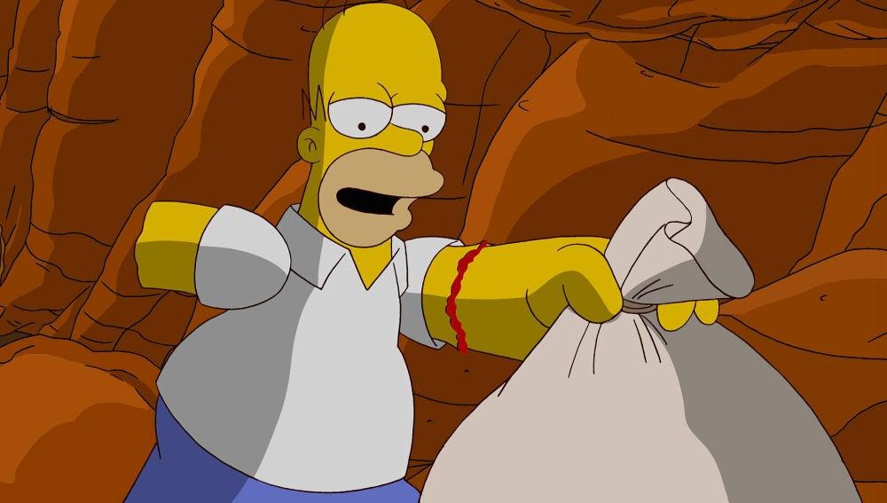 La chuches de Homer