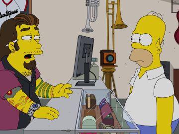 'La casa de empeños' se cuela en Los Simpson