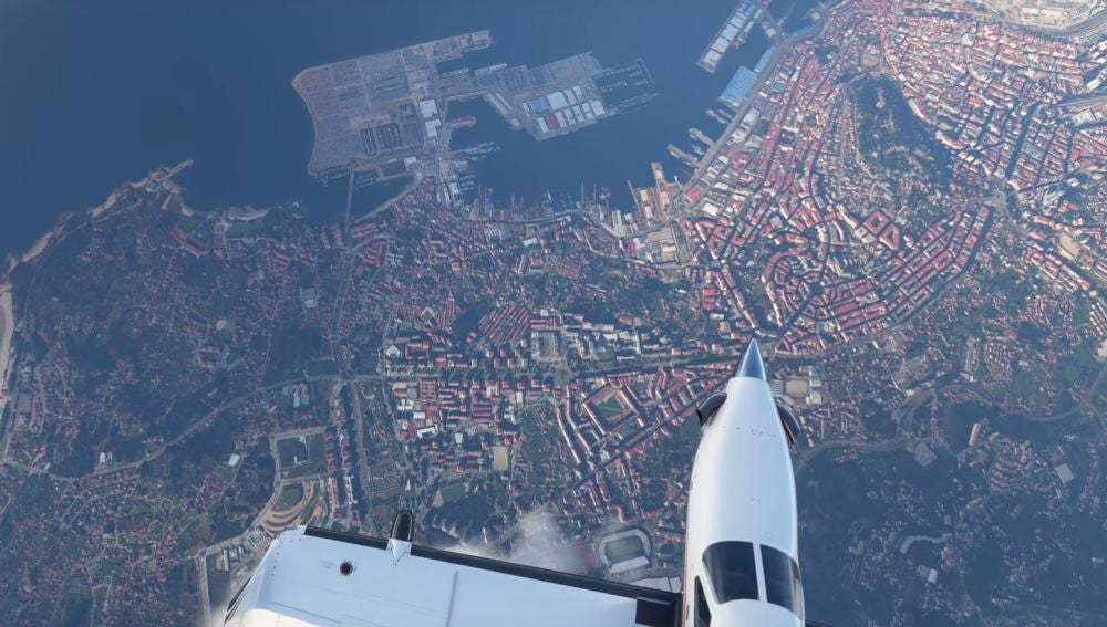 Vigo en Flight Simulator