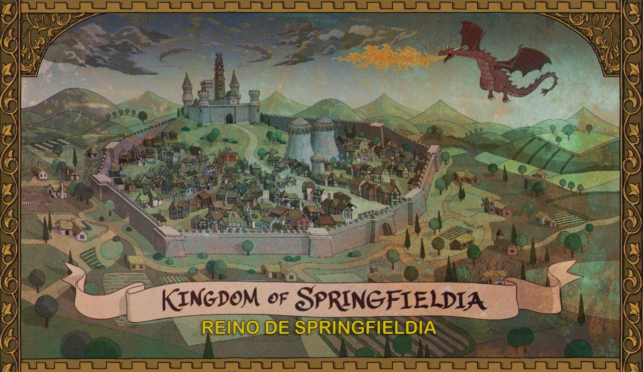 La cabecera de 'Los Simpson' recuerda a la de 'Juego de Tronos'