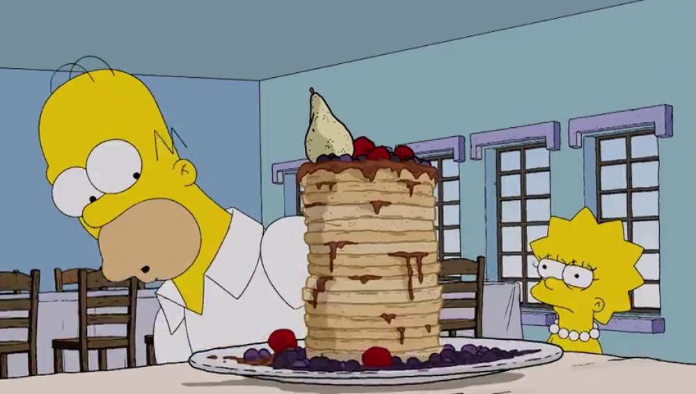 Homer Simpson se convierte en Casey Webb de 'Crónicas carnívoras'