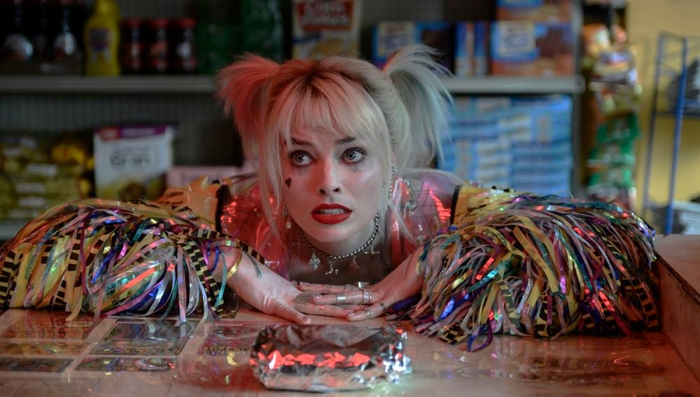 Margot Robbie como Harley Quinn en 'Aves de presa'