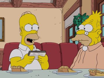 Homer recibe el mejor regalo posible