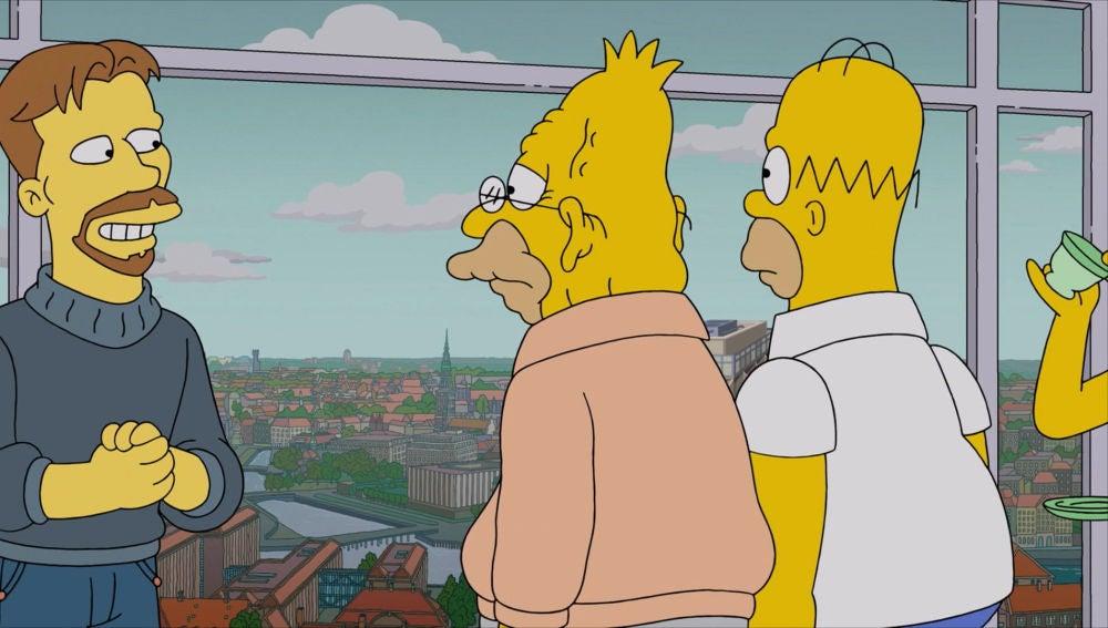 Los Simpson en Dinamarca