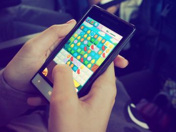 Juegos en el móvil