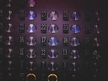 Botones de ascensor
