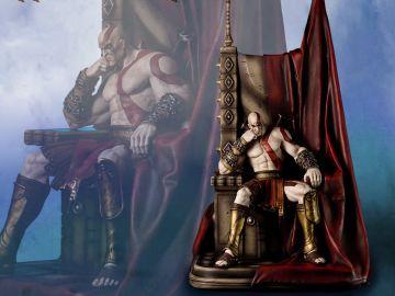 Figura de Kratos en el Trono