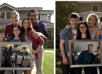 Los Dunphy antes y después