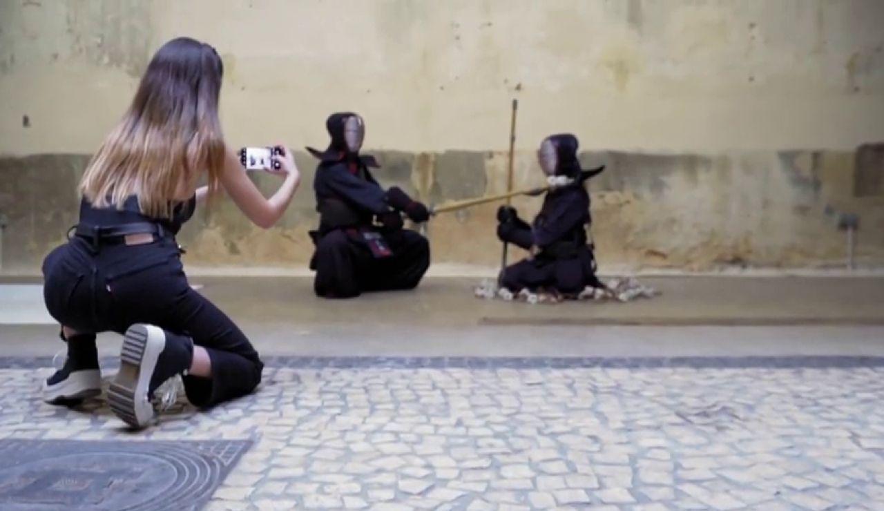 """Sara: """"No quiero hacer algo deportivo, quiero sacar la parte espiritual del kendo"""""""