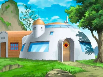 Casa de Goku en Dragon Ball