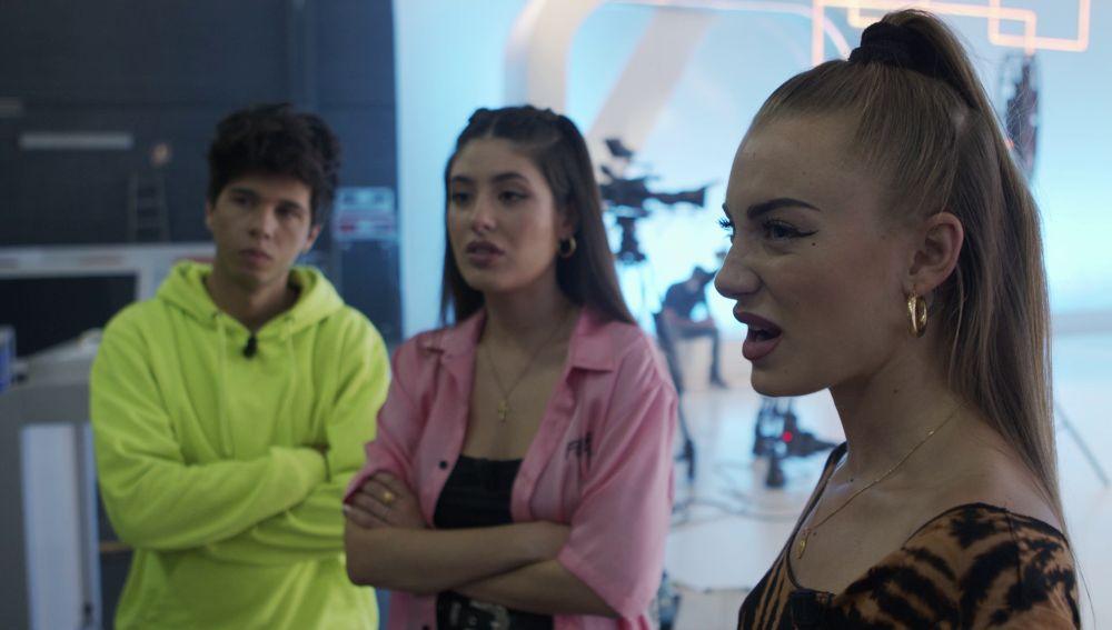Álvaro, Sara y Olivia