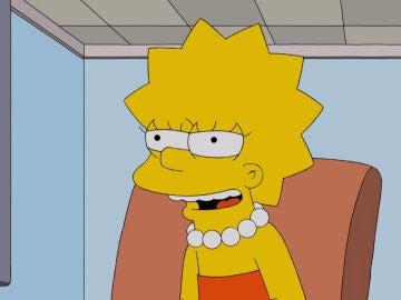 Lisa, feliz