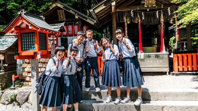 Colegiales japoneses