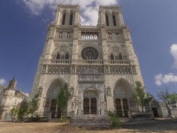 Recreación de la Catedral de Notre Dame