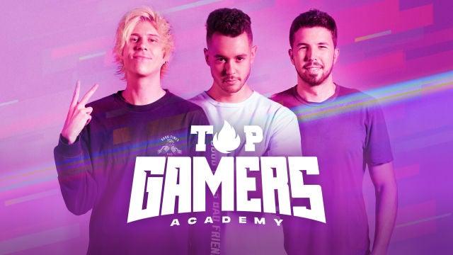Top Gamers Academy (sección)