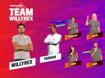 Equipo WillyRex de la primera semana