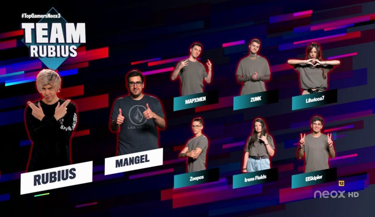 Rubius completa su equipos de 'Top Gamers Academy'