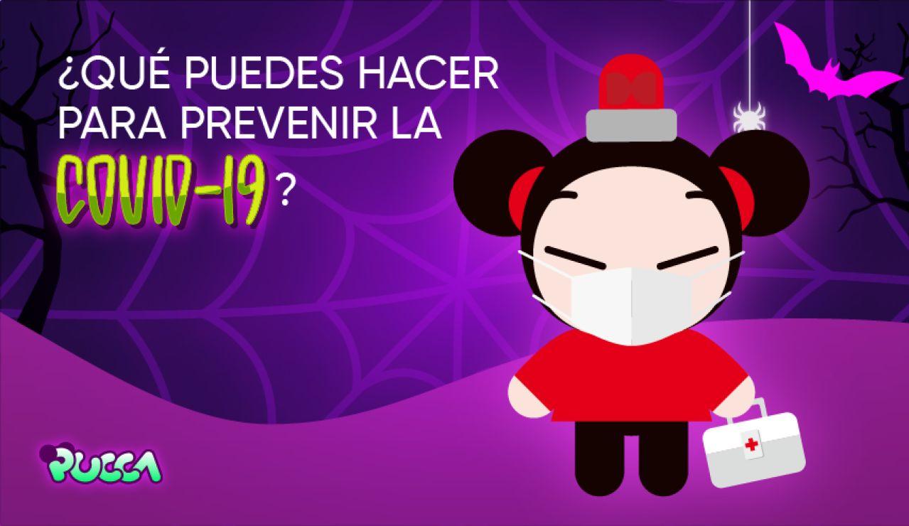 Consejos de Pucca para celebrar Halloween de forma segura