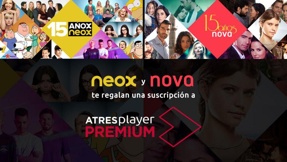 Gana con Neox y Nova una suscripción a ATRESplayer