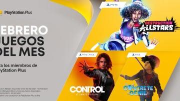 Juegos PS Plus febrero 2021