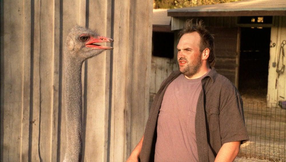 Randy tiene miedo a las aves