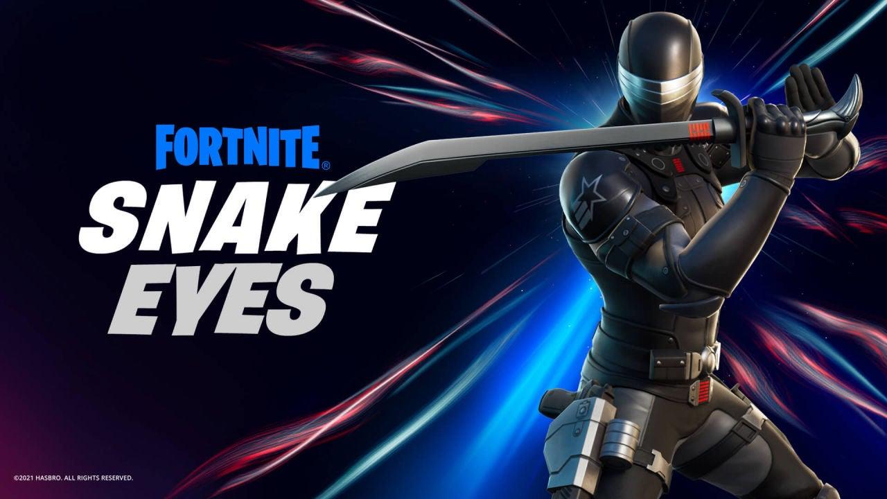 Snake Eyes de G.I. Joe sorprende con su llegada a Fortnite como nueva skin disponible - VÍDEO