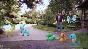Pokemon Go HoloLens Demo
