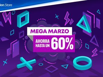 Descuentos de Mega Marzo PS Store