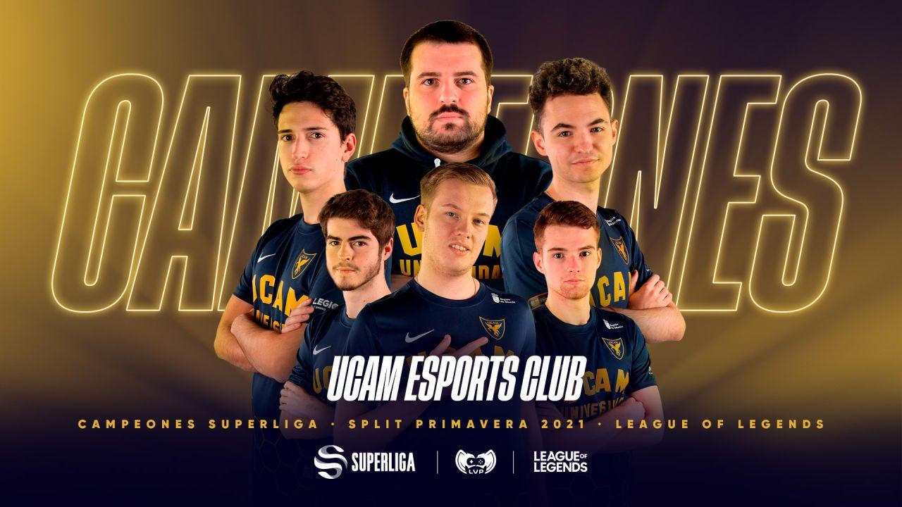 UCAM Esports hace historia en la Superliga