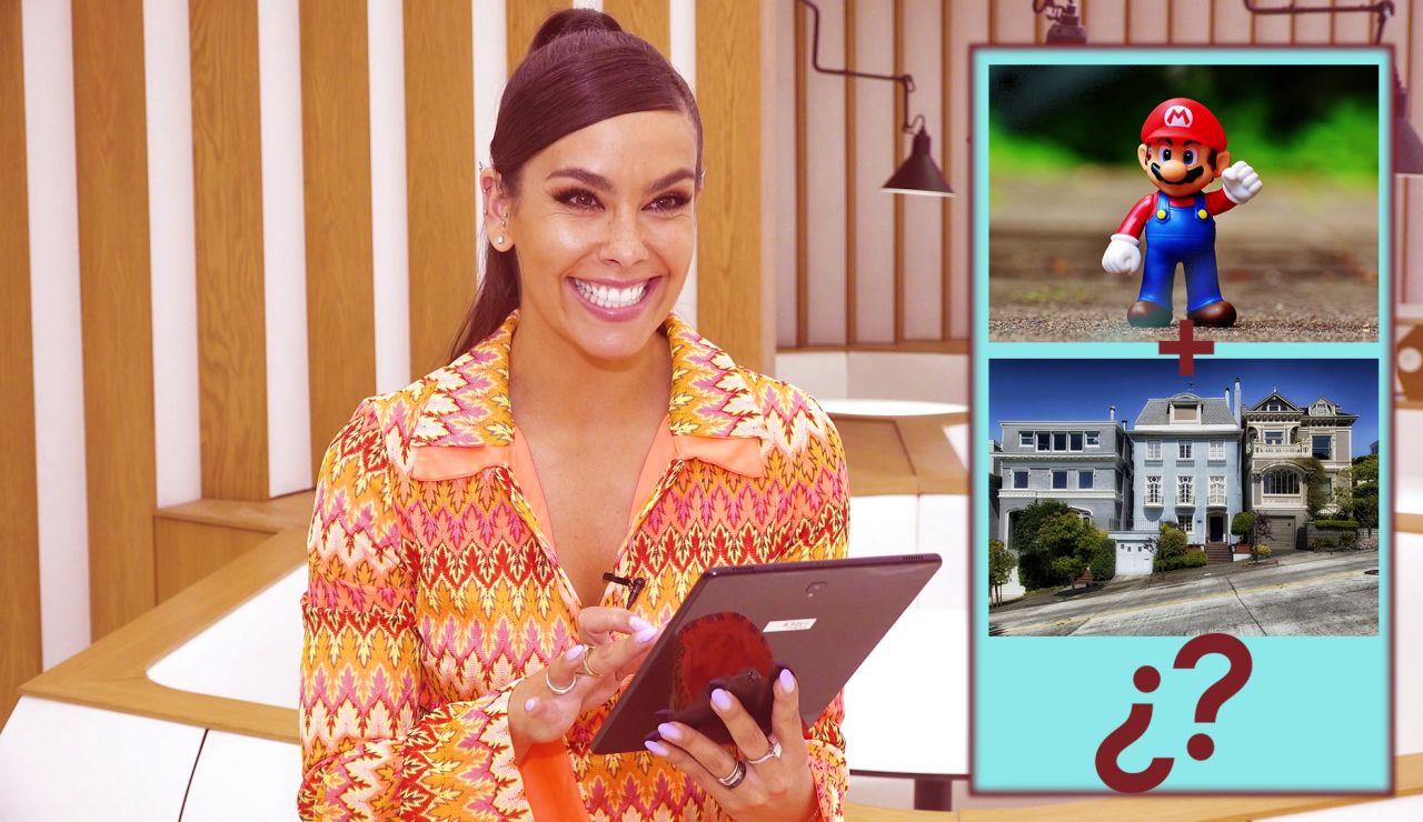 Cristina Pedroche se enfrenta al juego de 'Adivina el famoso' con mucha diversión