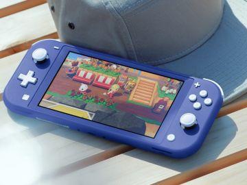 Nintendo Switch Lite en azul