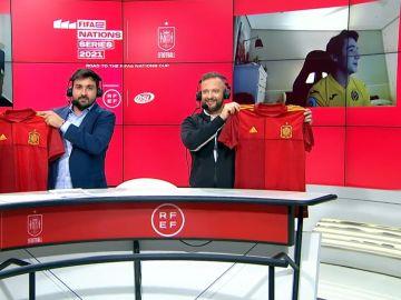 Representantes Selección española en la FIFAe Nations Cup
