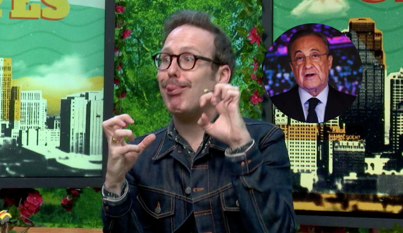 Joaquín Reyes es Florentino Pérez