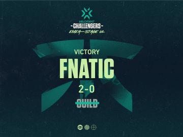 Fnatic avanza a las semifinales de las Valorant Challengers