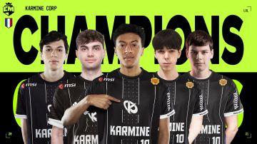 Karmine Corp se lleva la European Masters