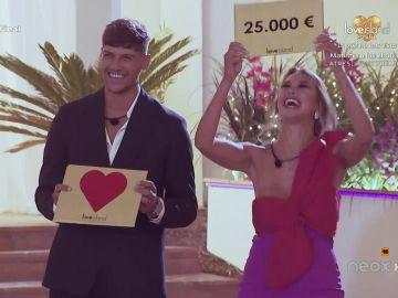 ¡Triunfa el amor! Celia y Miguel, los ganadores de la primera edición de 'Love Island España'