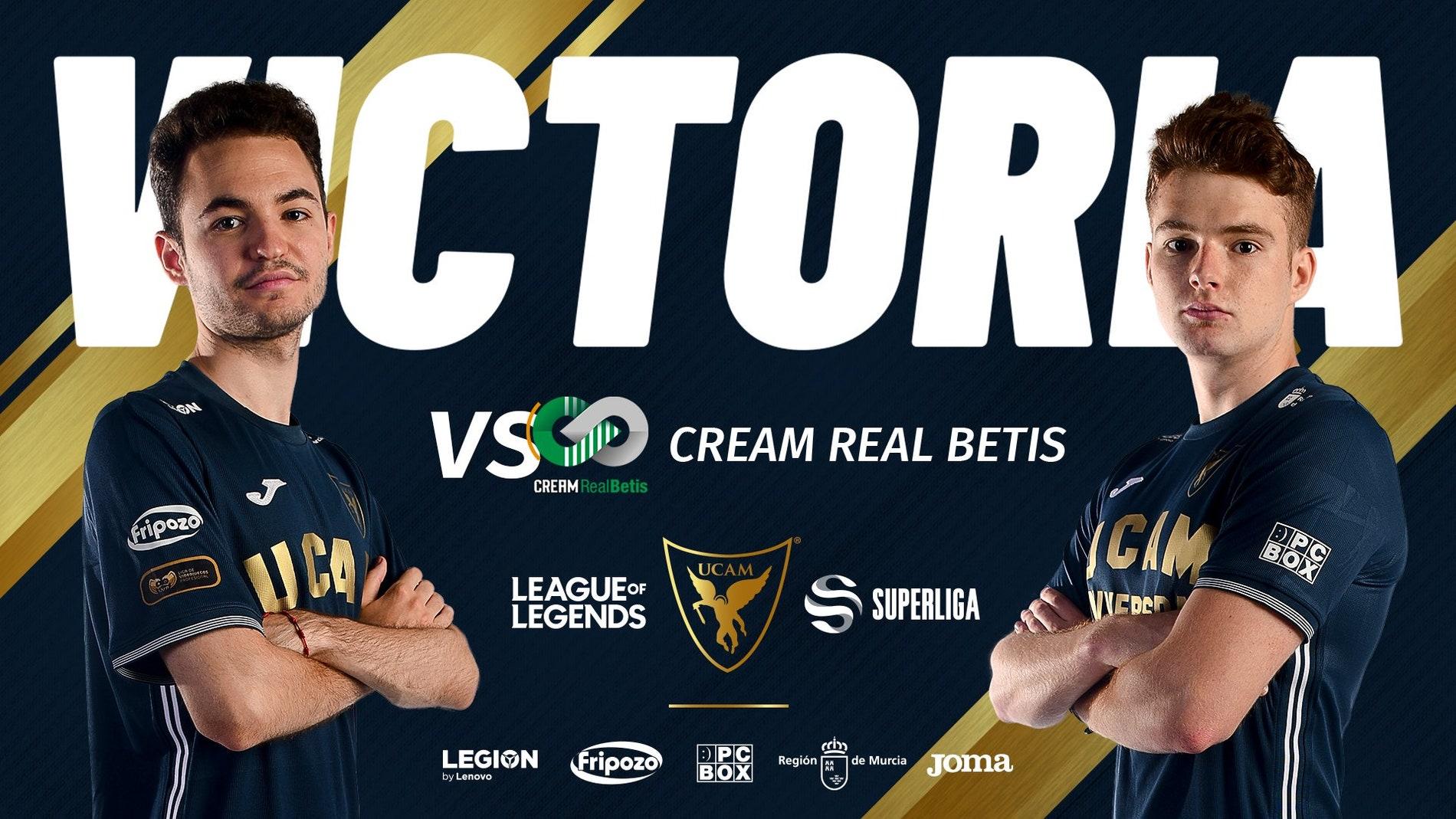 UCAM Esports se impone a Cream en el arranque de la Superliga