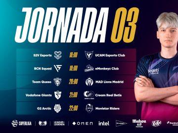 CREAM Real Betis, Movistar Riders y Vodafone Giants al asalto del podio de la Superliga